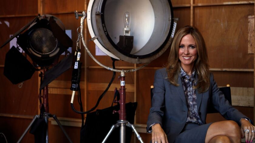 LOS ANGELES, CA - SEPTEMBER 23, 2014: Portrait of Chairman and CEO of Fox Television GroupDana Walde