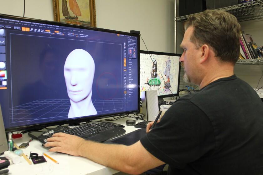 Burb's Eye View: A hair-styling sculptor cuts his own path