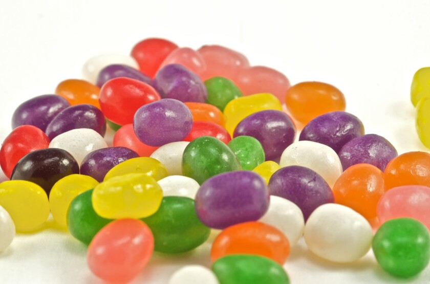 Mountain of Jelly Bean Candies