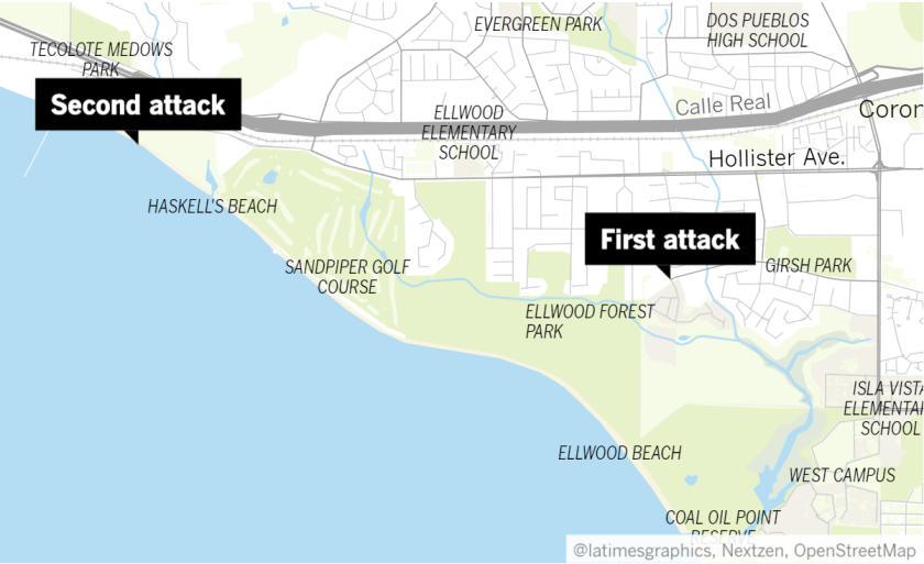 Two attacks in Goleta