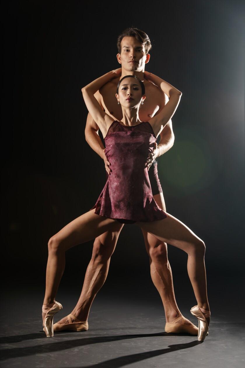 Sumire Ito and Iago Breschi