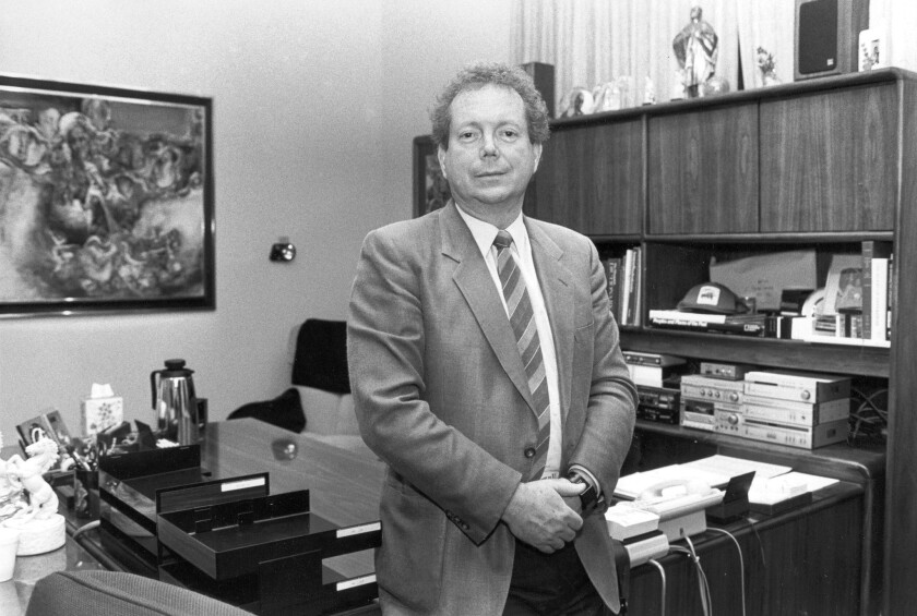 John-Roger, shown in 1987, was the founder of the new-age Movement of Spiritual Inner Awareness.