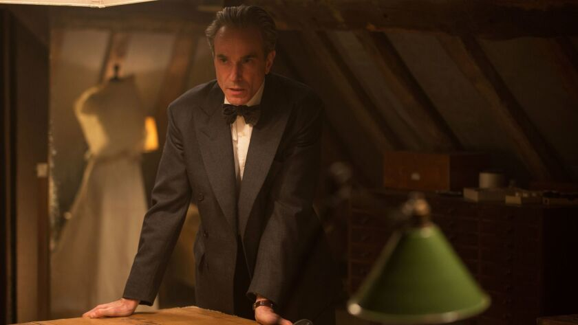 """In this image released by Focus Features, Daniel Day-Lewis appears in a scene from """"Phantom Thread."""""""