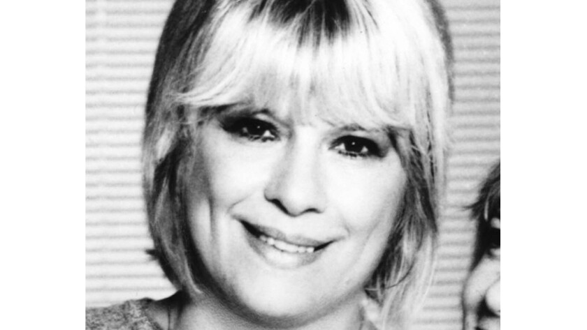 Ellie Greenwich, seen here in 1985, was a prolific songwriter, credited with more than 200 songs including many enduring hits from the 1960s. She was also one of the first female record producers.