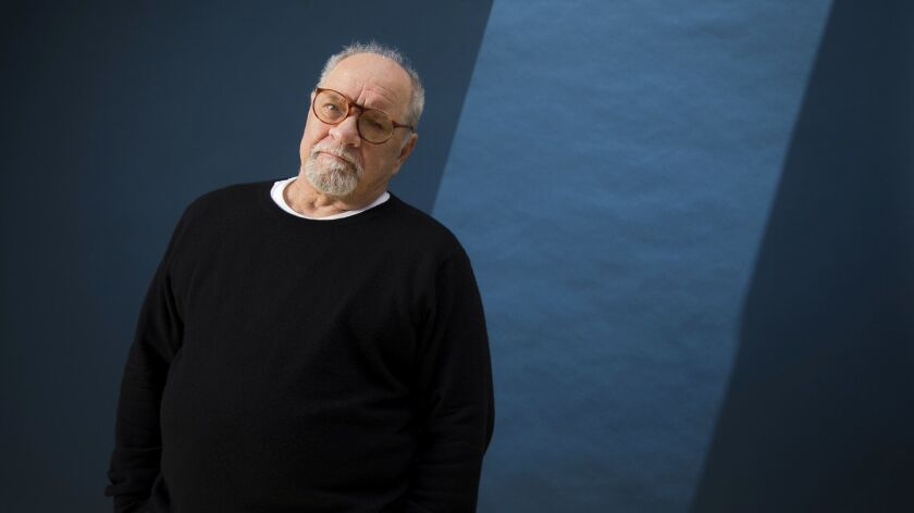 BEVERLY HILLS, CA - 05-09-2018 - Director/screenwriter Paul Schrader photographed at he Four Seasons