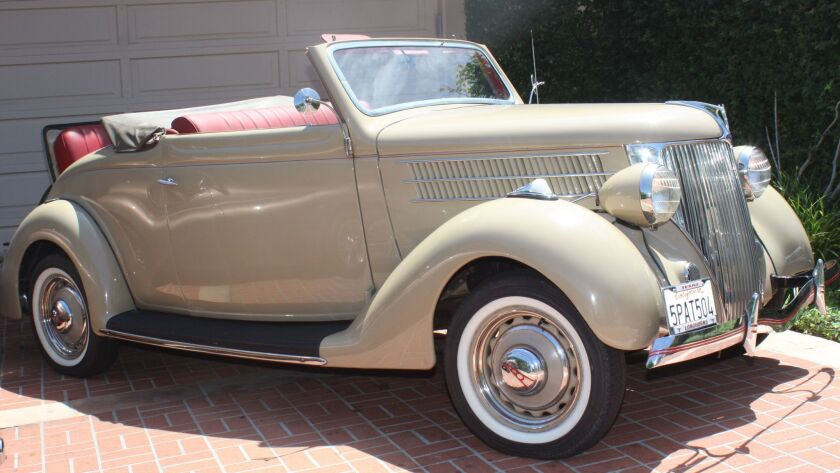 A 1936 Ford Cabriolet