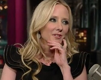 """Ellen DeGeneres and Steve Martin both probably wish they could wipe Anne Heche off their romantic resumes. At least she didn't go on Letterman to complain about them being """"lazy-ass exes"""" like she did to poor ex-husband Coleman Laffoon. Appears she's all for equal rights except when it comes to women having to play alimony. Related: Anne Heche on 'Late Show' Video"""