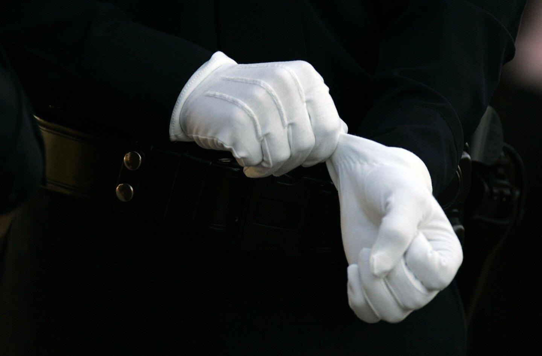 Officer Chris Wilson's funeral