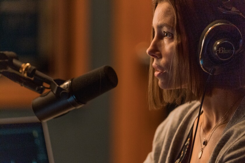 "Jessica Biel in Facebook Watch's ""Limetown,"" adapted from the popular podcast"