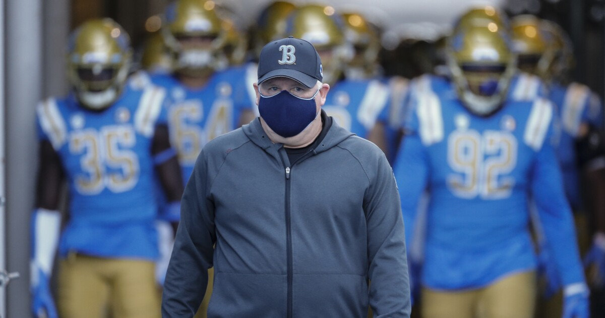 UCLA's Martin Jarmond remains a big believer in Chip Kelly
