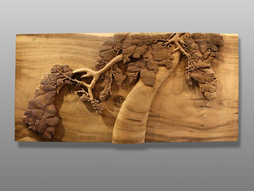"""Black Pine"" studio carving by David Bardwick and David Alan Collection. Photo courtesy David Alan Collection"