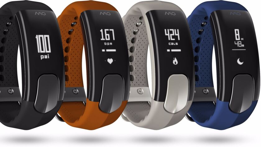 Mio Global's Slice fitness tracker.