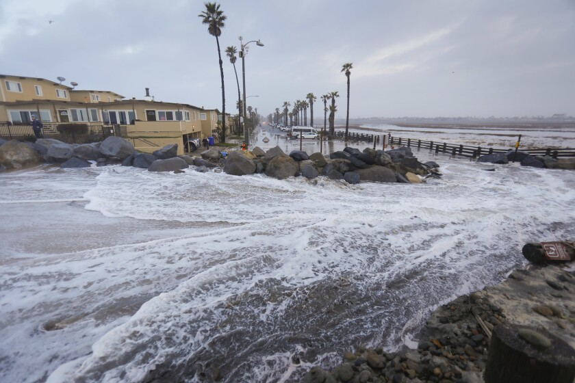 King tides hit Imperial Beach
