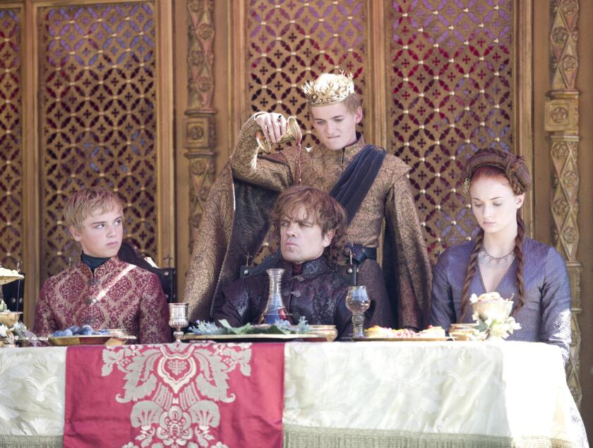 """A """"Game of Thrones"""" feast"""