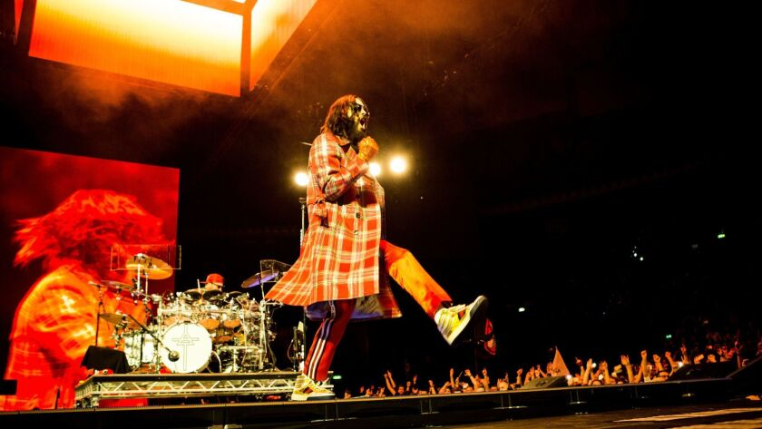 Thirty Seconds To Mars in concert at Unipol Arena, Bologna, Italy - 17 Mar 2018