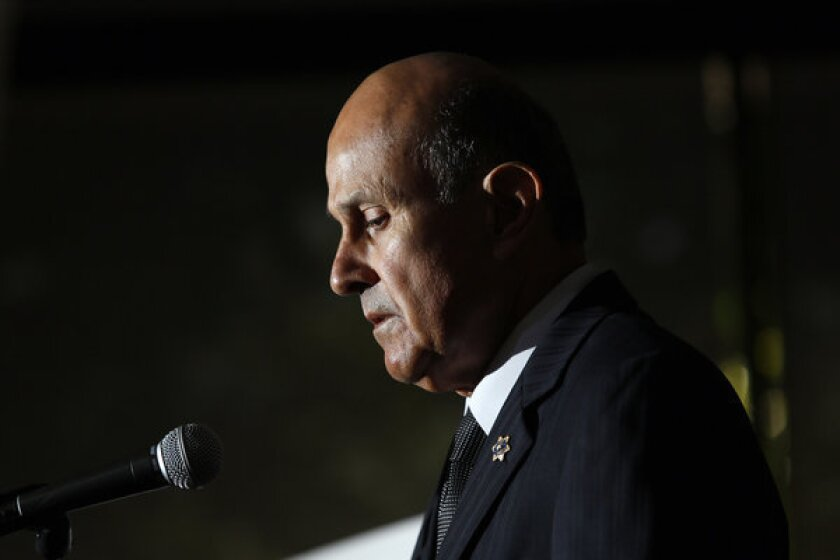 Sheriff Lee Baca's comments come a day after L.A. County leaders demanded he investigate his hiring practices in response to an L.A. Times investigation last weekend. The Times found that the Sheriff's Department hired dozens of officers from a disbanded county police force in 2010 even though investigators had found significant misconduct in their backgrounds.