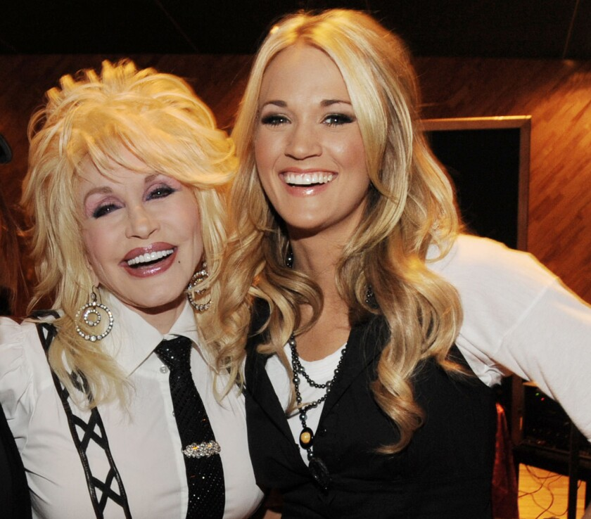 "Dolly Parton's ""Live From London"" DVD Premiere Party - Backstage"