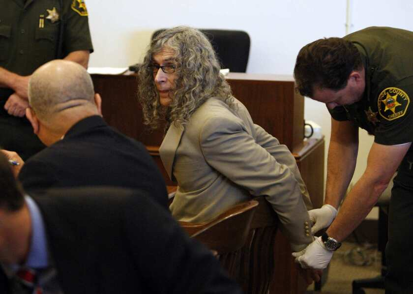Rodney Alcala is shown during court proceedings in Orange County in 2010.