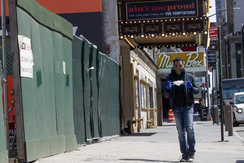 Virus Outbreak 24 Hours Broadway Veteran