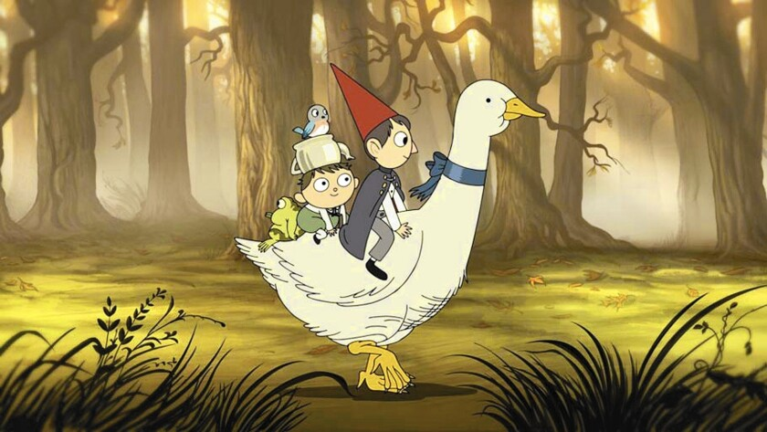 """A scene from the Cartoon Network's show """"Over the Garden Wall."""""""