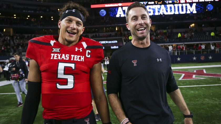 Chiefs QB Patrick Mahomes: Kliff Kingsbury would succeed in the NFL