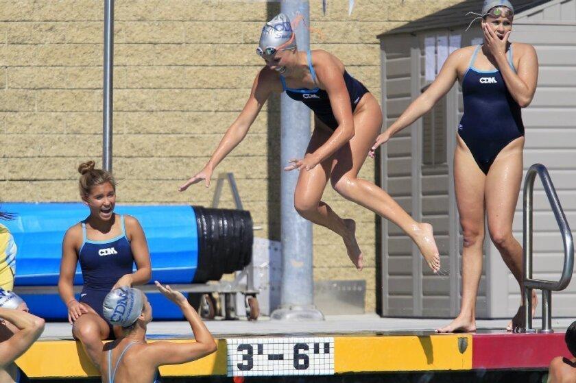 Swimming: CdM girls earn big win