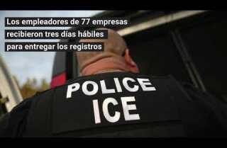 Los agentes federales exigen documentos de 77 empresas del norte de California en redada de inmigración