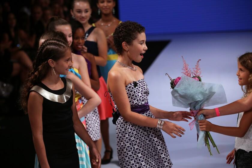 Noa Sorrell makes L.A. fashion week debut