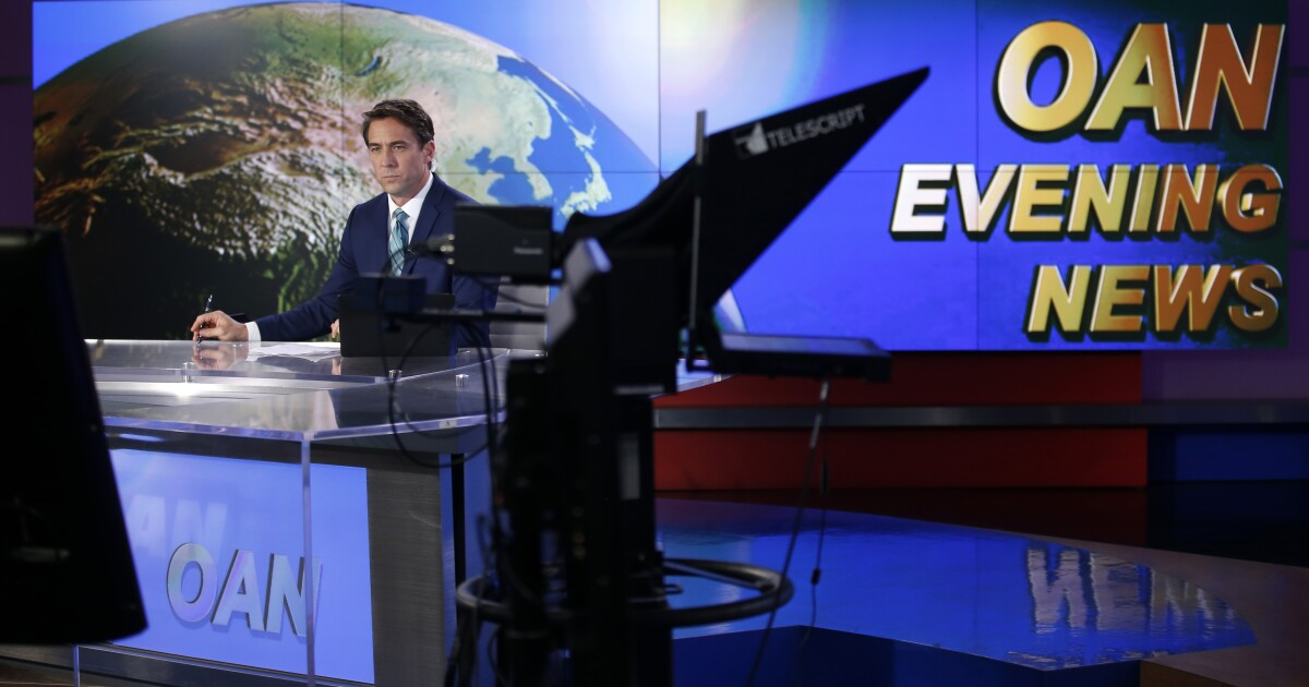 Judge dismisses One America News defamation suit against MSNBC's Rachel Maddow