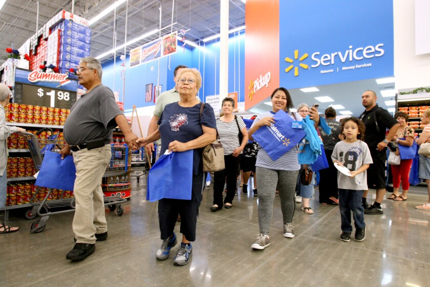 Walmart Supercenter opens in Burbank