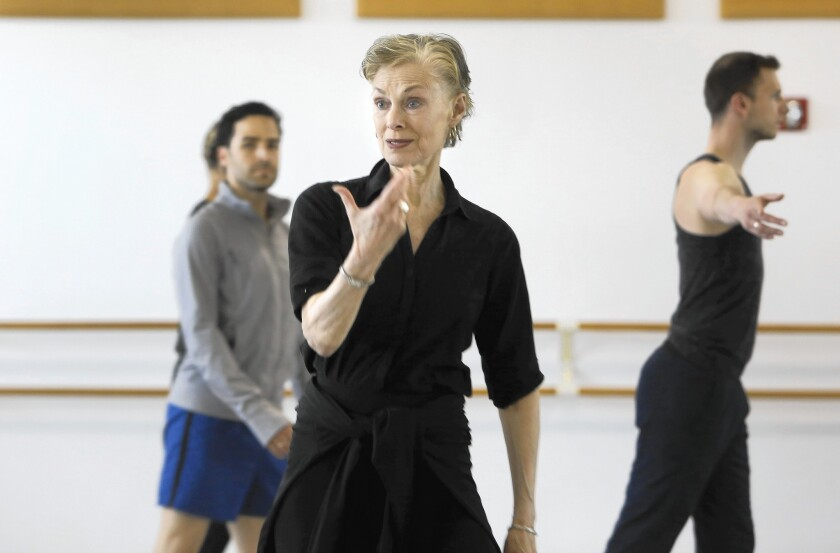 """Lucinda Childs, who danced in the original """"Available Light,"""" is supervising choreography in the new version premiering Friday."""