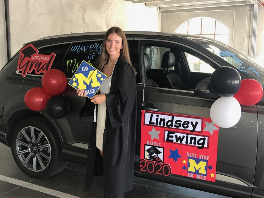 Canyon Crest Academy graduating senior Lindsey Ewing