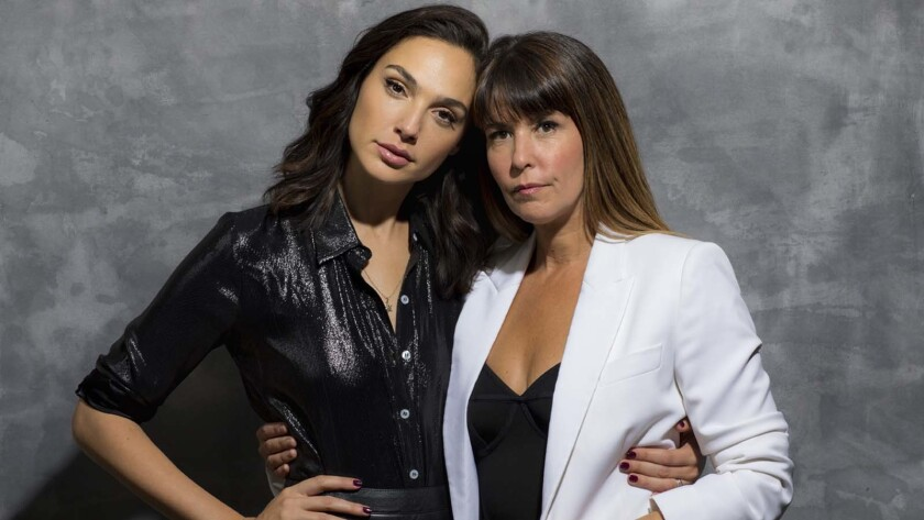 """WEST HOLLYWOOD, CA--MONDAY, OCTOBER 30, 2017--""""Wonder Woman"""" director Patty Jenkins and her lead act"""