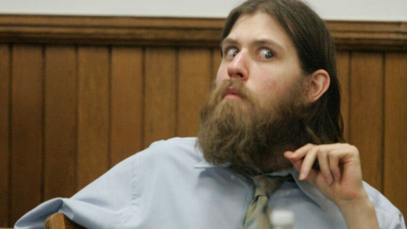 William Morva listens to proceedings in Washington County Circuit Court in Abingdon, Va., in March 2008.