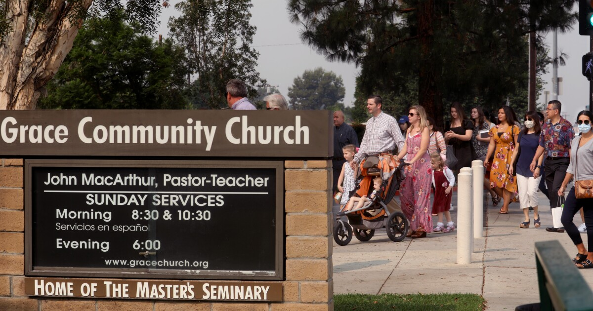 Coronavirus outbreak strikes L.A. megachurch that defied public health orders