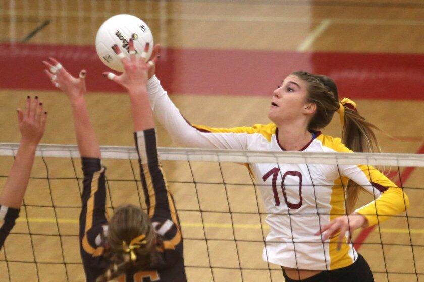 Top-ranked Torrey Pines is counting on Savannah Rennie.
