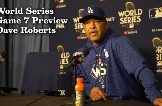Dave Roberts talks preparing for Game 7