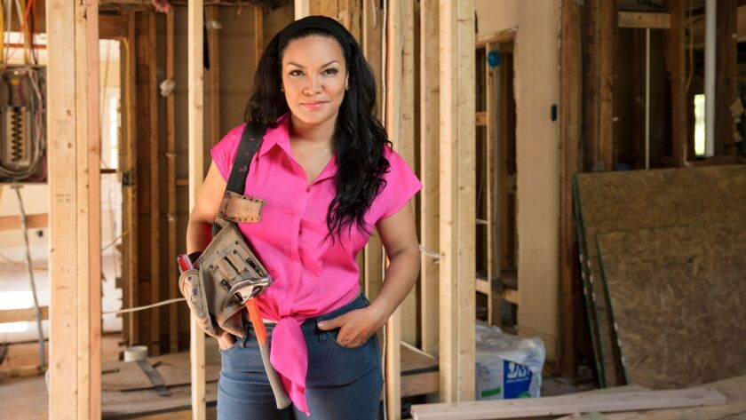 HGTV host Egypt Sherrod shares real world lessons with first time home flippers on her show, Flipping Virgins.