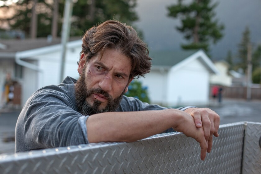 "Jon Bernthal in a scene from the movie ""Sweet Virginia."" Credit: Grady Mitchell / IFC Films"