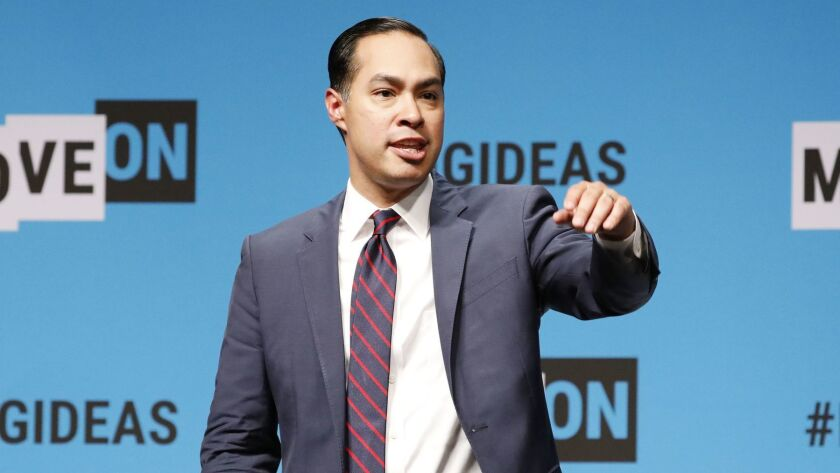 Julián Castro at the MoveOn Big Ideas Presidential Forum