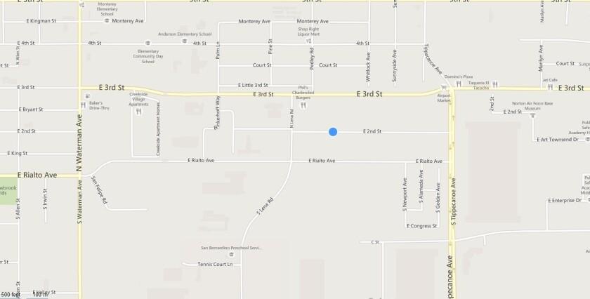 San Bernardino man arrested