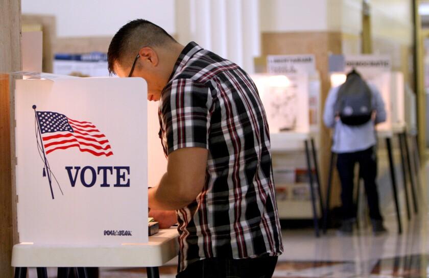 Voting in Burbank