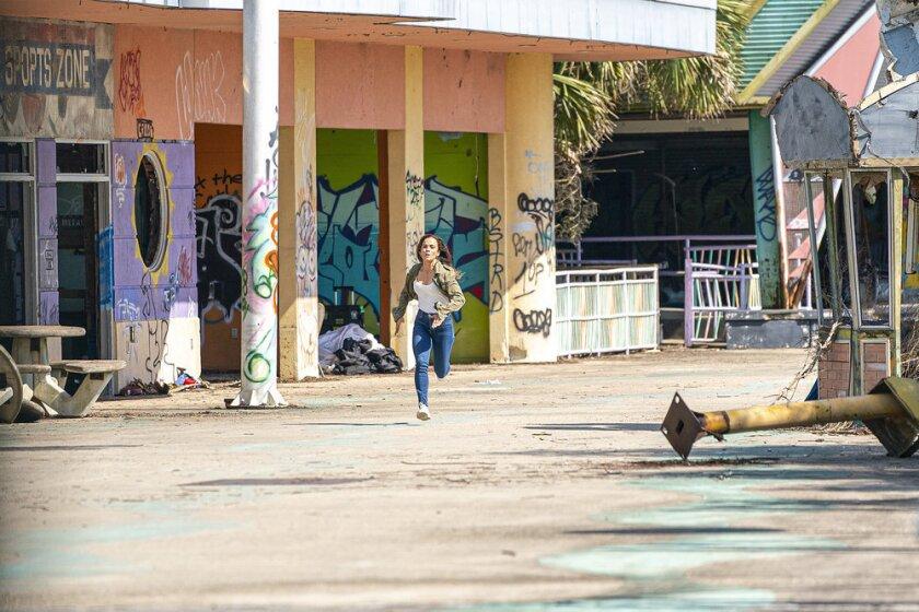 "Alice Braga as Teresa Mendoza in USA's border-crossing ""Queen of the South."""