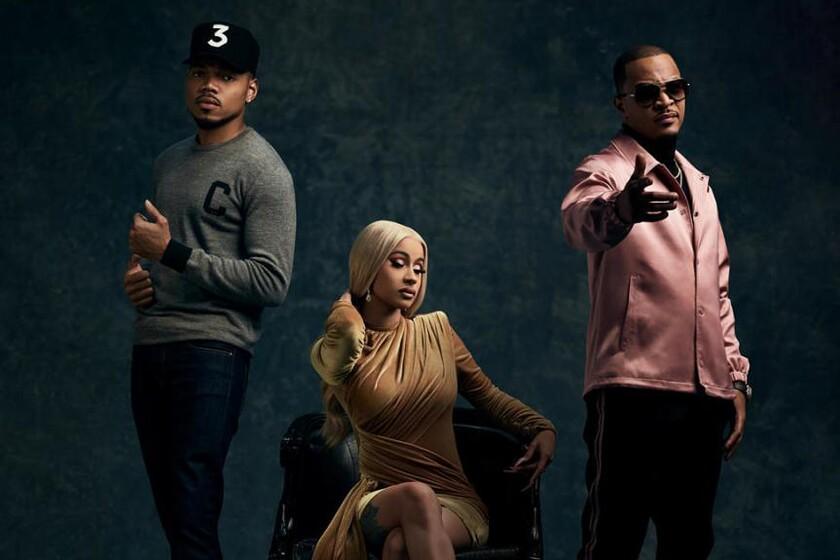 Chance the Rapper, Cardi B and T.I.