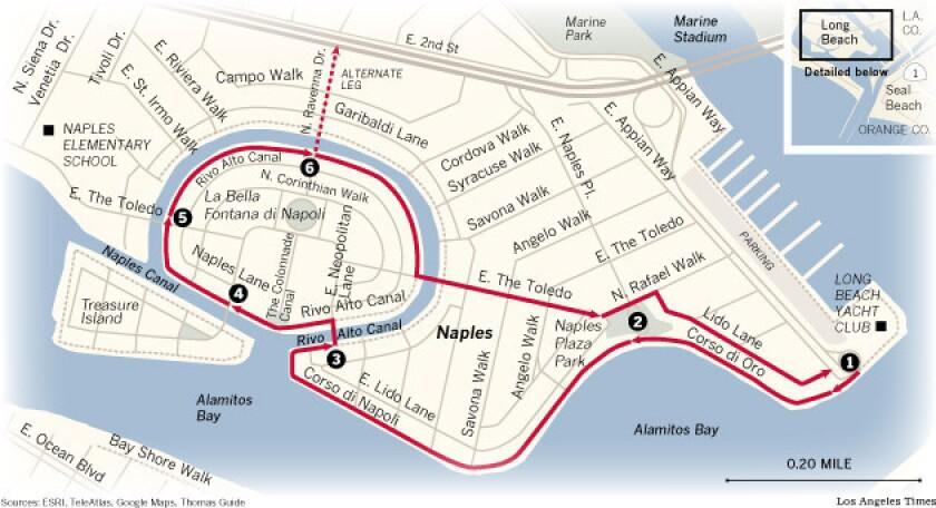 L.A. Walks: Naples in Long Beach