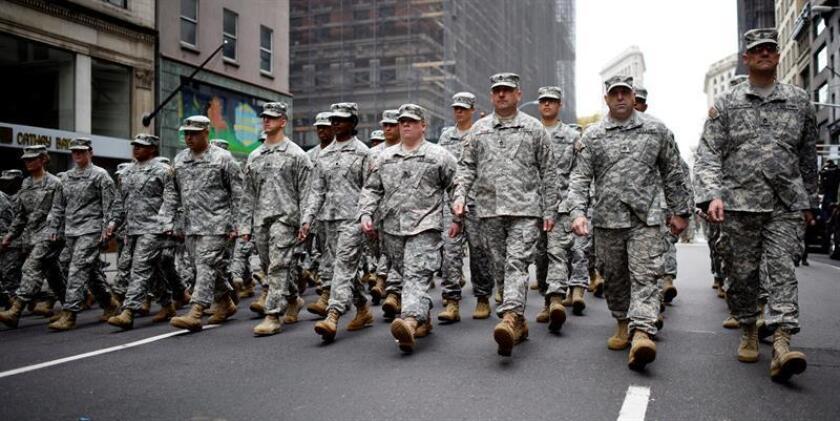 El Pentágono está organizando para el próximo 11 de noviembre, Día de los Veteranos de Estados Unidos, el desfile militar que quería el presidente, Donald Trump, un evento que, según informó la CNN, no tendrá tanques. EFE/ARCHIVO