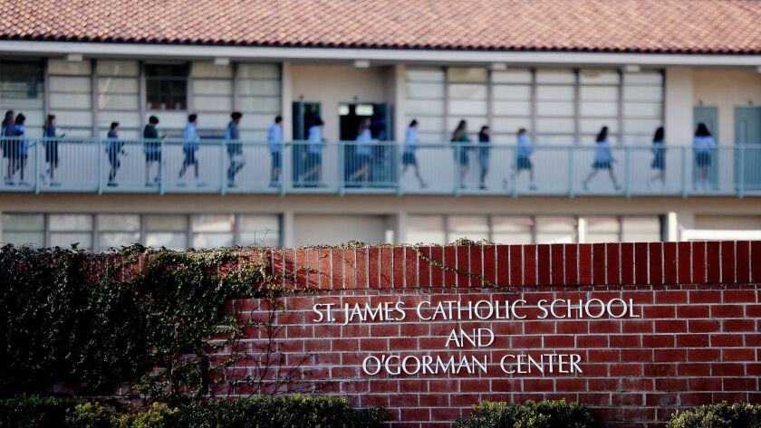 Torrance Catholic school embroiled in nun theft scandal can