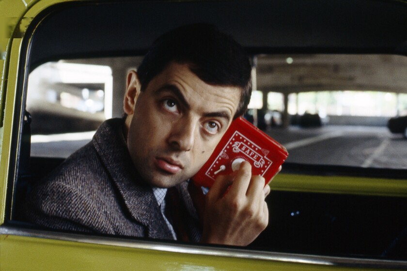 """Rowan Atkinson stars in the semi-silent """"Mr. Bean,"""" getting a 25th anniversary DVD release from Shout! Factory."""