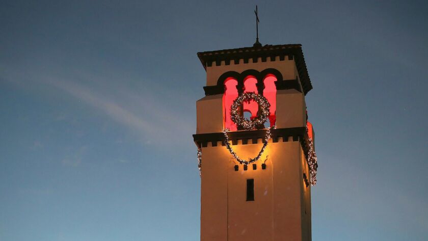 Shine Bright is the inaugural lighting of the historic bell tower located at First United Methodist