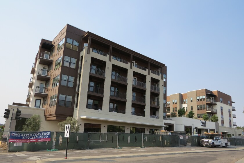 The Rylan, a 126-unit luxury apartment complex in Vista.